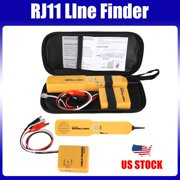 EEEkit Network RJ11 Line Finder Cable Tracker Tester Toner Electric Wire Tracer Pouch