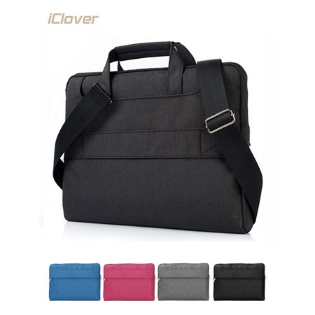 13 Inch Laptop Shoulder Bag,iClover Messenger Bag Multi Functional Protective Tablet Case Cover with Strap & Handle for Up to 13.3 Inch Macbook NoteBook Chromebook for Business Travel-