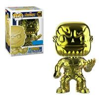 Funko POP - Avengers: Infinity War - Thanos - Yellow Chrome Exclusive