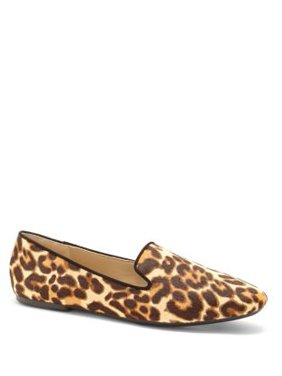 Leonie Calf Hair Smoking Loafer