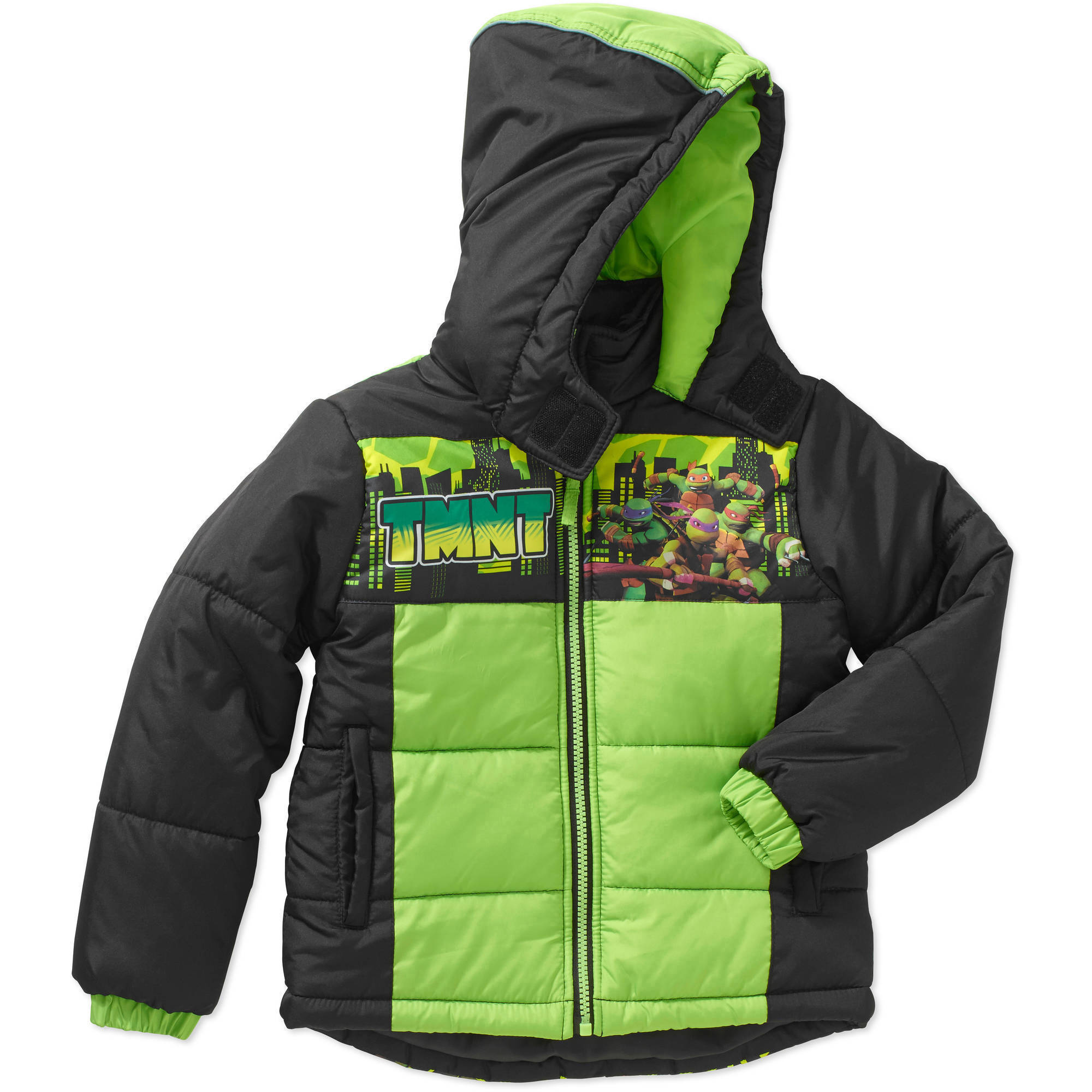 Little Boys' Licensed Puff Jacket, Available in 4 Characters