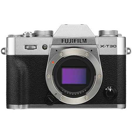Fujifilm X-T30 Mirrorless Digital Camera (Body Only - Silver)
