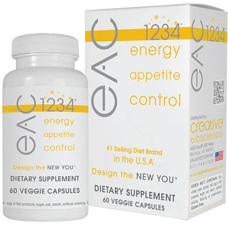 Eac 1234 Energy Appetite Control Capsules  60Ct