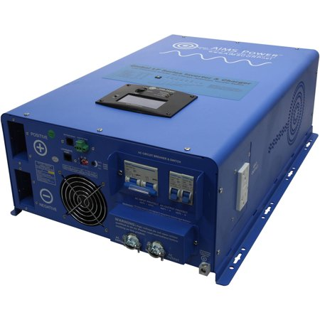 AIMS Power 10,000W 48Vdc to 120/240Vac Split Phase Pure Sine Inverter