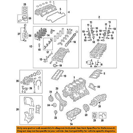 Chrysler Oem Vvt Variable Valve Timing Carrier Gasket 4892688Ab