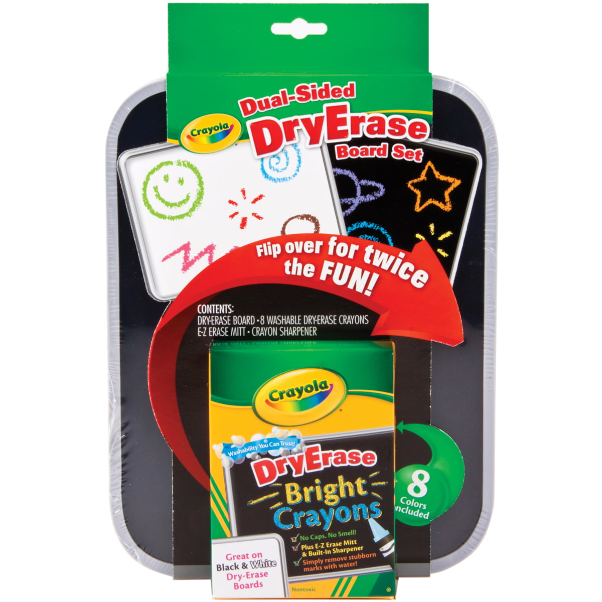 Crayola Dual-Sided Dry-Erase Board Set by Crayola