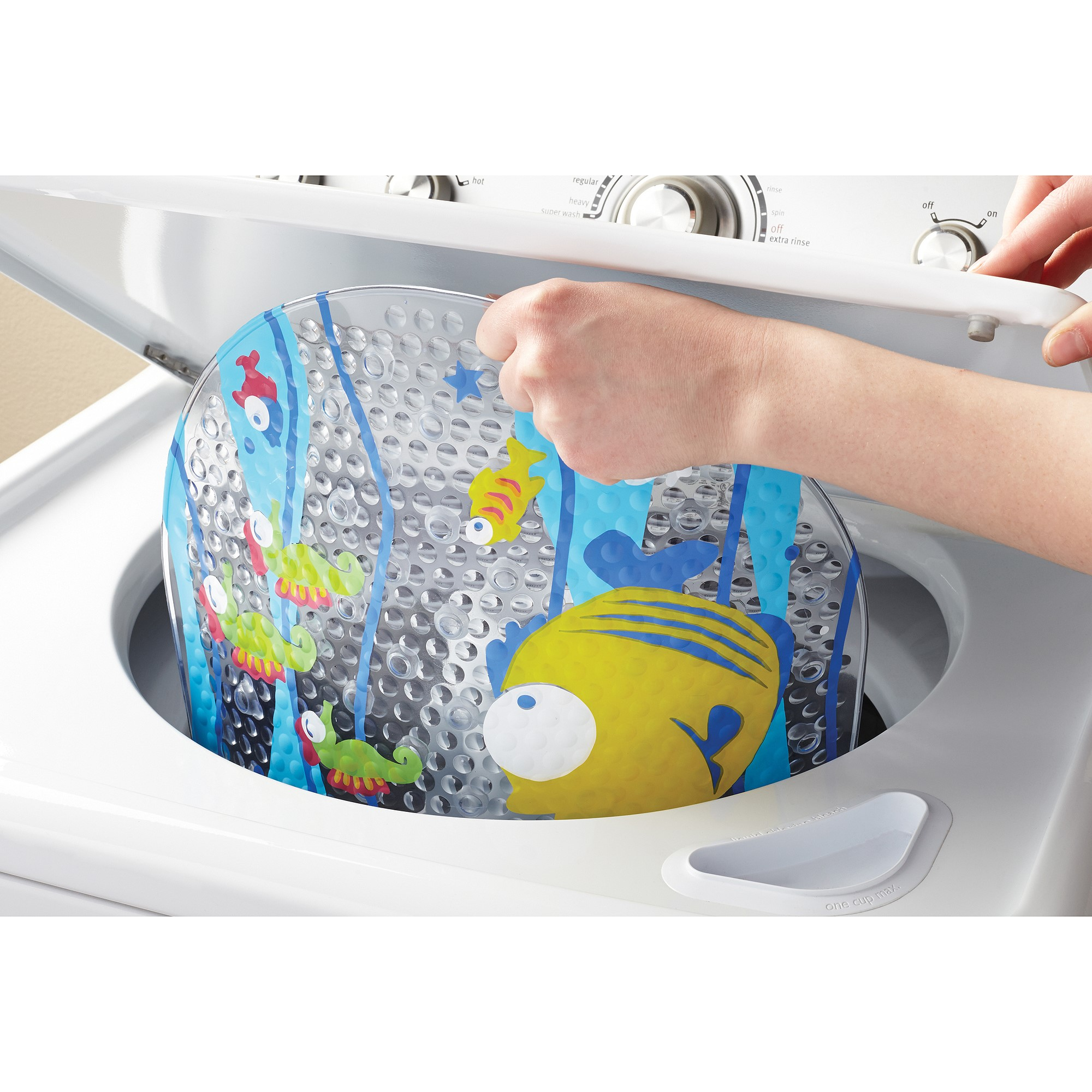 Mainstays Fish Bathtub Mat