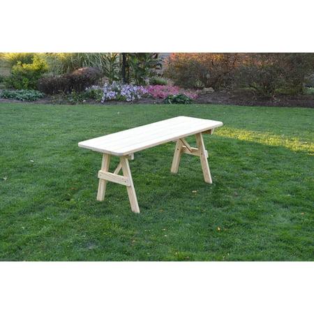 Kunkle Holdings LLC Pressure Treated Pine Unfinished Picnic Table - Pressure treated wood picnic table