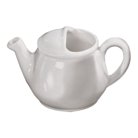 English Teapot - Diversified Ceramics DC182-W White 16 Oz. English Teapot - 12 / CS