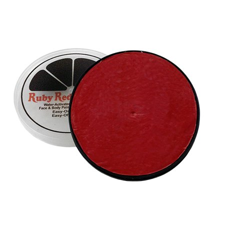 Ruby Red Face Paint .61oz-Red -