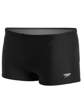 6ce8abaab96bc Product Image Speedo Mens Poly Endurance Square Leg Jammer Swimsuit-Size  30323436 - Black