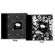 Pioneer DA-200CBFBW Black & White Fabric Bi-Directional 4x6 Album