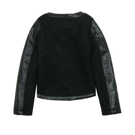 Blu by Blu Girls' Wool Jacket Penne Lane, Sizes 7-14 - 7 - image 1 of 2