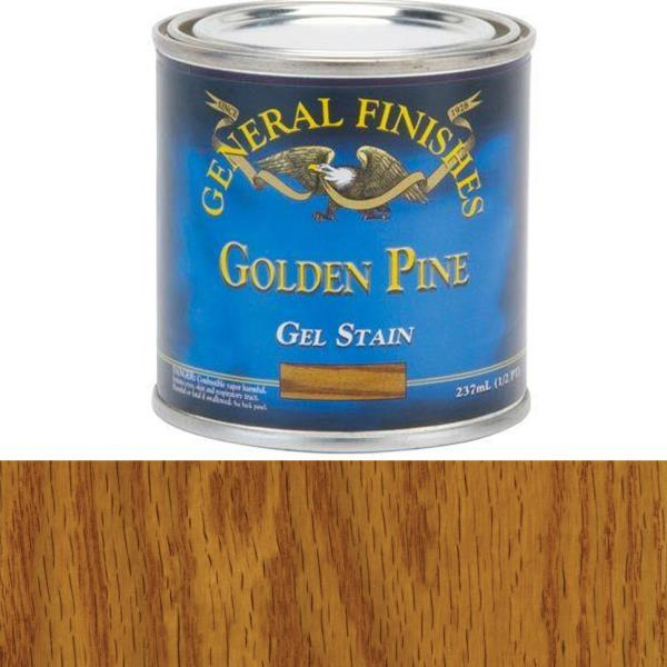 Golden Pine Gel Stain, 1/2 Pint