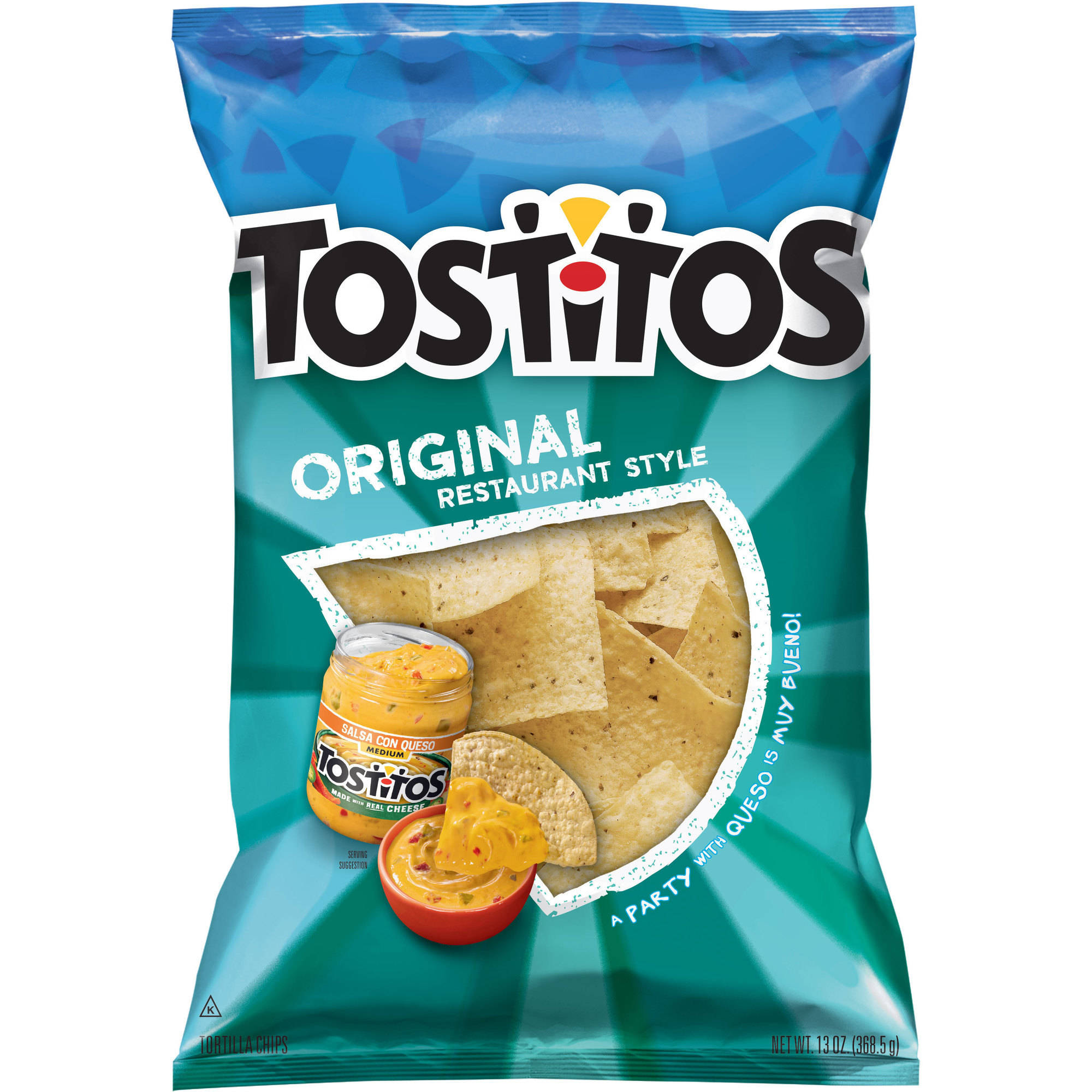 Tostitos Restaurant Style White Corn Tortilla Chips, 13 oz