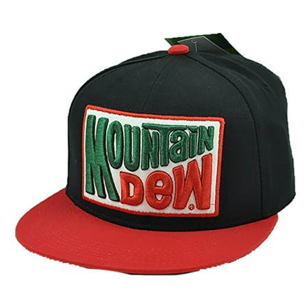 Mountain Dew Snapback Hat - Walmart.com 5fd9f57a46d