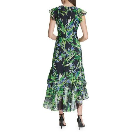 Best Fiji Floral High-Low Midi Dress deal