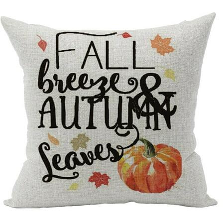 Womail Fall Autumn Room Sofa Car Decorative Throw Pillow Case Cushion Cover 18X18Inch](Autumn Fall)