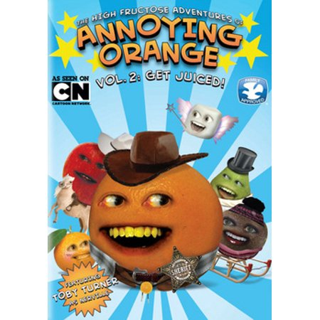 The High Fructose Adventures of Annoying Orange: Vol. 2 Get Juiced (DVD)