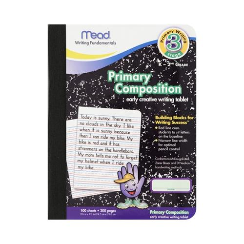 PRIMARY COMPOSITION BOOK FULL PAGE MEA09902