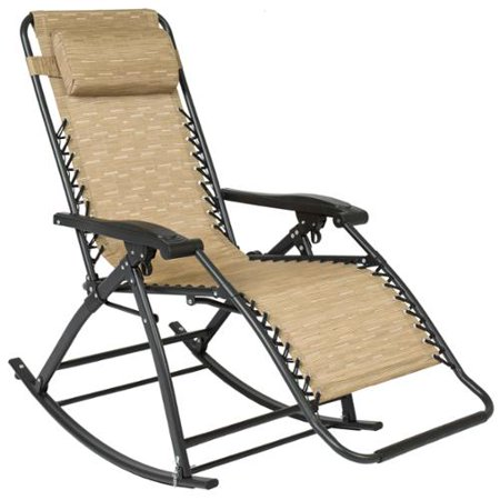 Best Choice Products Zero Gravity Rocking Chair Lounge