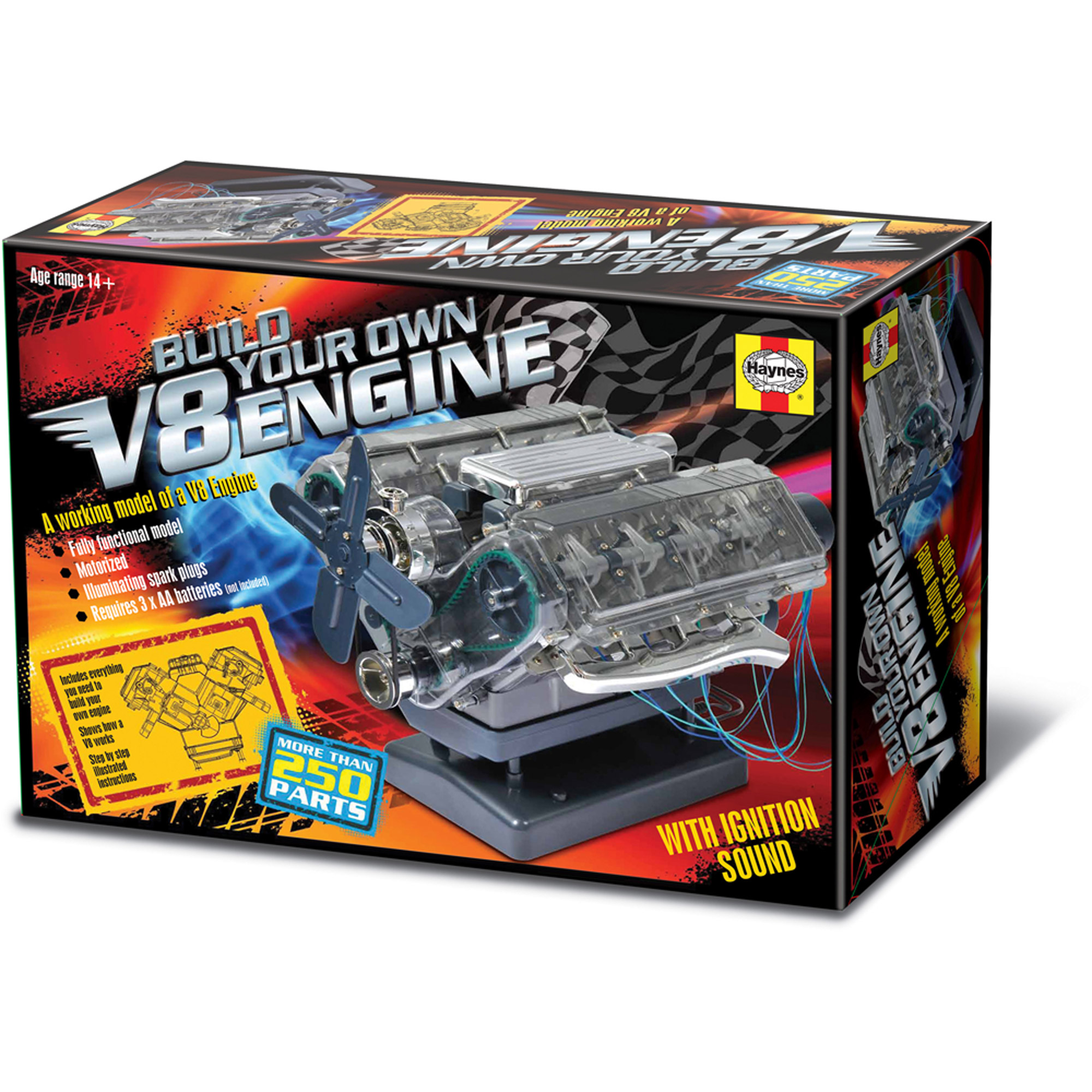 Haynes Build Your Own V8 Engine - Walmart com