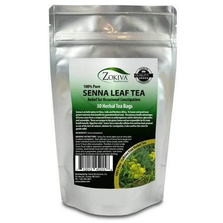 Senna Tea 30 Bags 100% Natural Herbal Laxative/Cleanser and Weight (The Best Laxative Tea)