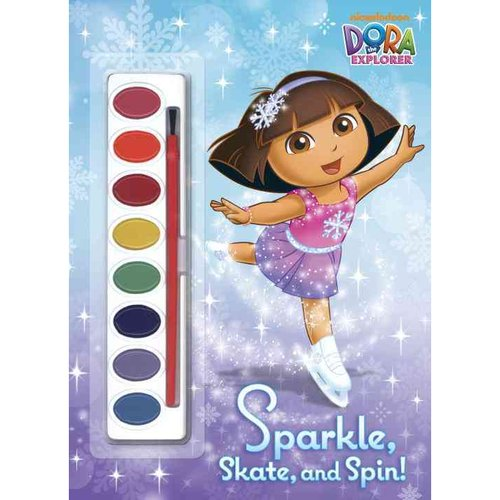 Sparkle, Skate, and Spin! Paint Box Book