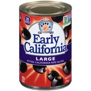 (Price/Case)Early California 44207015 Olives Large Pitted Ripe 24-6 Ounce