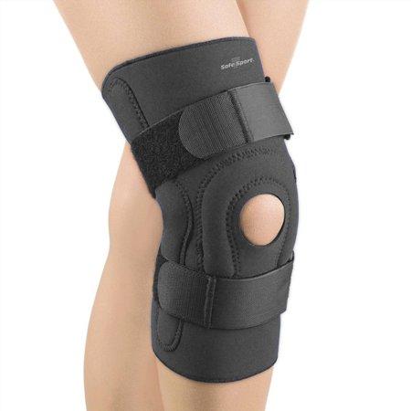 FLA Safe T-Sport Hinged Stabilizer Knee Brace 3X-Large-Black