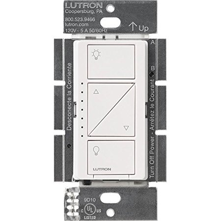 Lutron PD-10NXD-WH Caseta Pro In Wall Dimmer 250 Watts LED / 1000 Watts Incandescent Halogen Magnetic Low Voltage