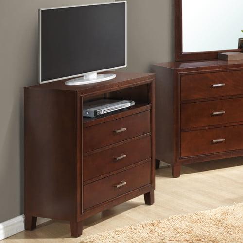Glory Furniture Weller 3 Drawer Media Chest