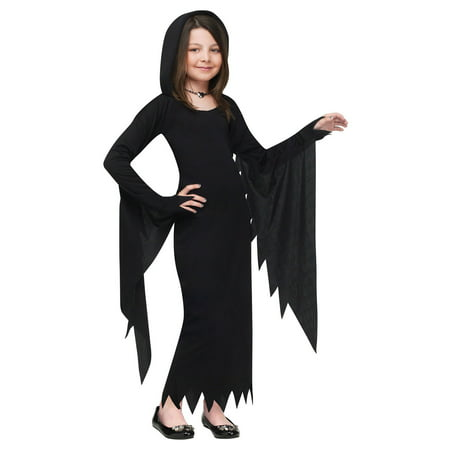 Child Hooded Gown Vampire Halloween Costume - Vampire Costume Ideas For Kids