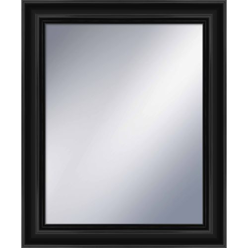 "PTM IMages 5-1207 34.75"" X 28.75"" Rectangular Mirror With Black Frame by PTM Images"