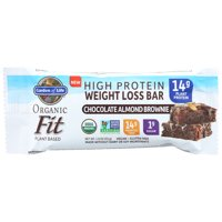 Garden Of Life , Fit High Protein Bar Chocolate Almond Brownie, 1.9 Oz, Pack Of 12