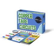 Copper Tape Circuit STEM kit for at-Home learning and play with real circuits - All Inclusive! 10 Electricity and circuit projects perfect for boys and girls aged 8-12