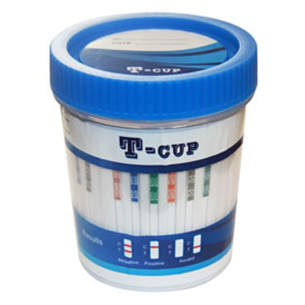 12 Panel Drug Test Cup (OPTION A) Amp/Bar/Bup/Bzo/Coc/MDMA/Mtd/Opi/Oxy/Pcp/Tca/Thc