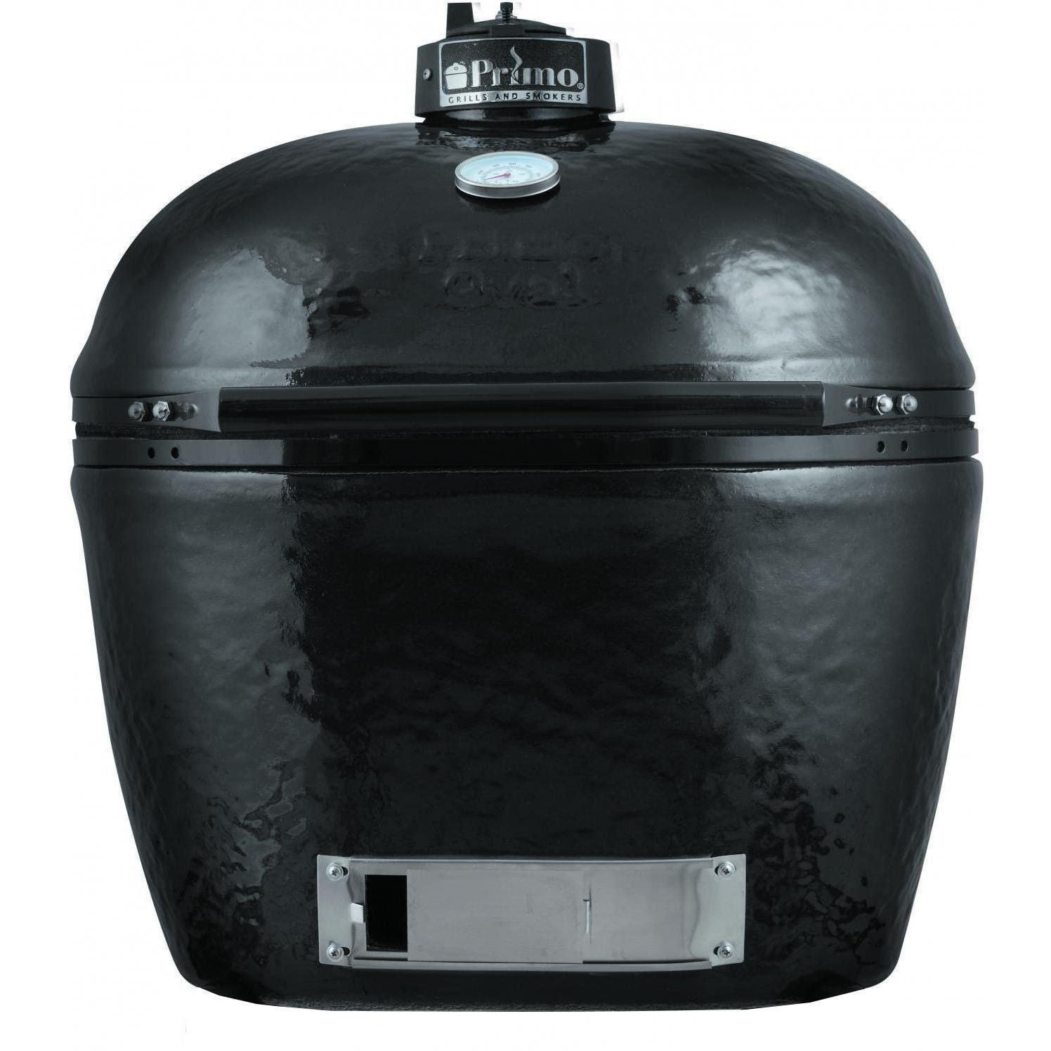 Primo 778 Extra-Large Oval Ceramic Charcoal Smoker Grill by Primo