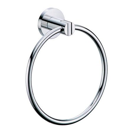 Gatco 4682 Channel Towel Ring in Chrome