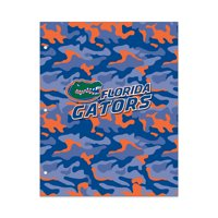 NCAA Florida Gators 2 Pocket Portfolio, Three Hole Punched, Fits Letter Size