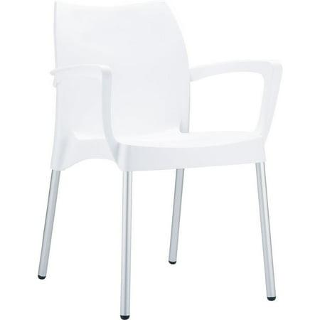 Fabulous Siesta Exclusive Dolce Indoor Outdoor Stacking Arm Chair Set Of 4 Interior Design Ideas Oteneahmetsinanyavuzinfo