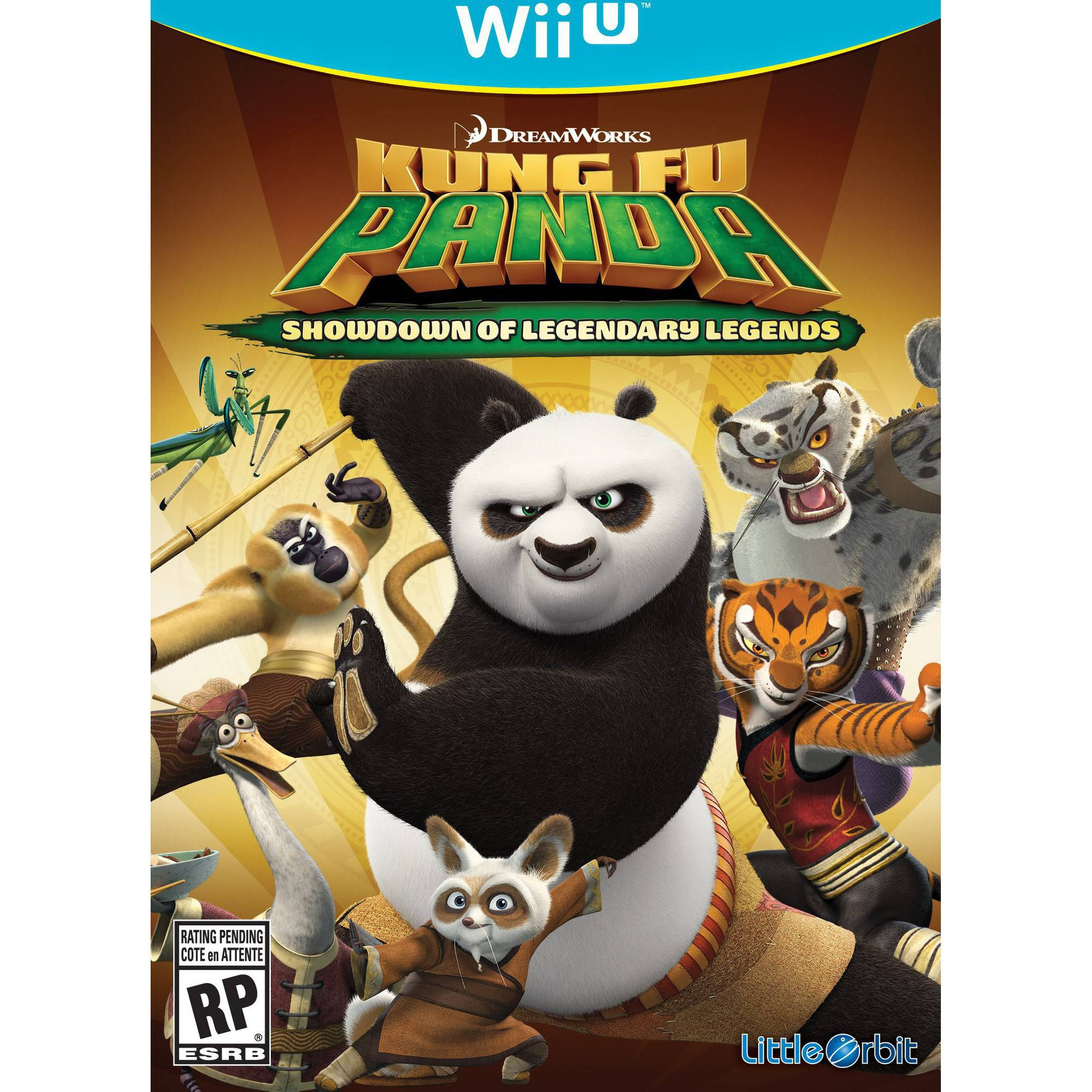 Kung Fu Panda Showdown (Wii U)