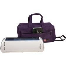 Creative Options E Tote Rolling Trolley Purple 700-481