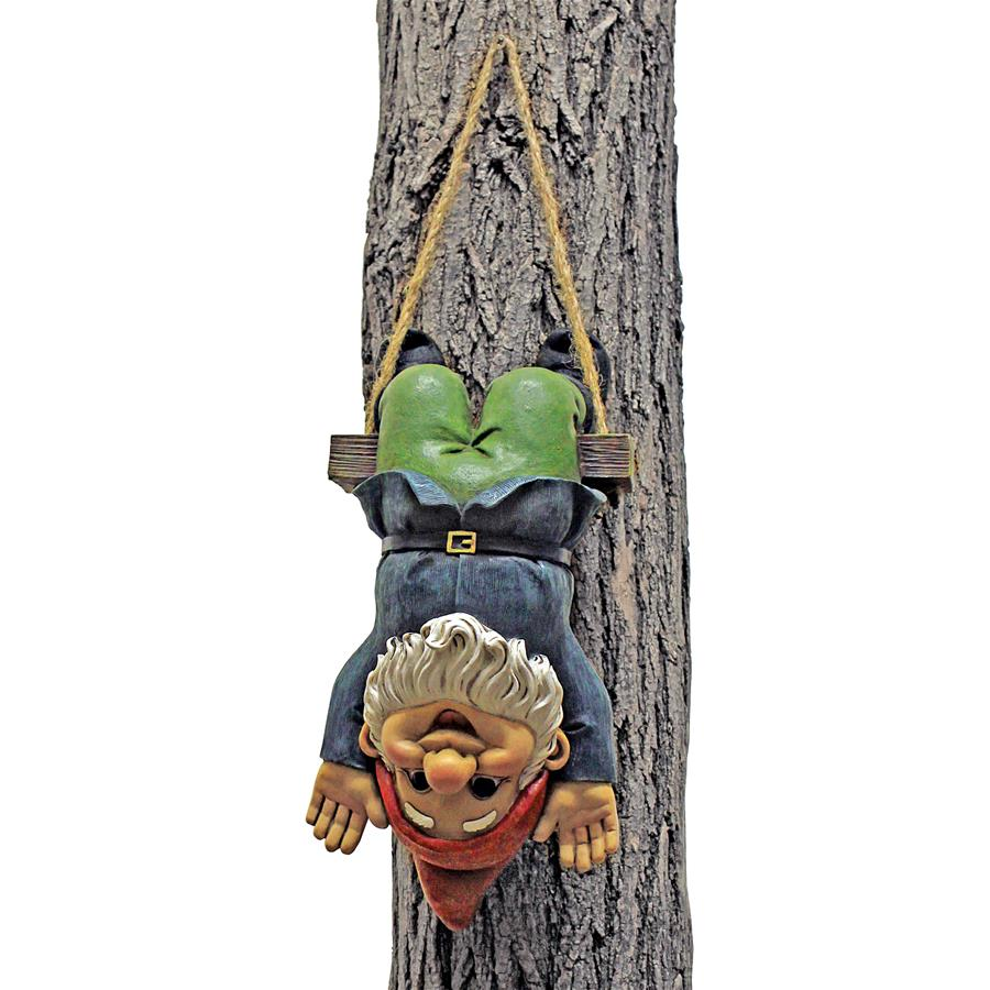 Alfie the Acrobat: Swinging Gnome Statue