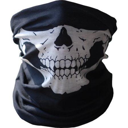 Skeleton Mask - Skull Tube Face Mask Festival Style Multi-Function Bandana Beanie Scarf Headband Outdoor Face Protection Rave Mask (Tube Bandanas)