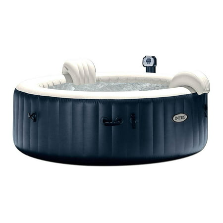 Intex Pure Spa 6-Person Inflatable Portable Heated Bubble Hot Tub |