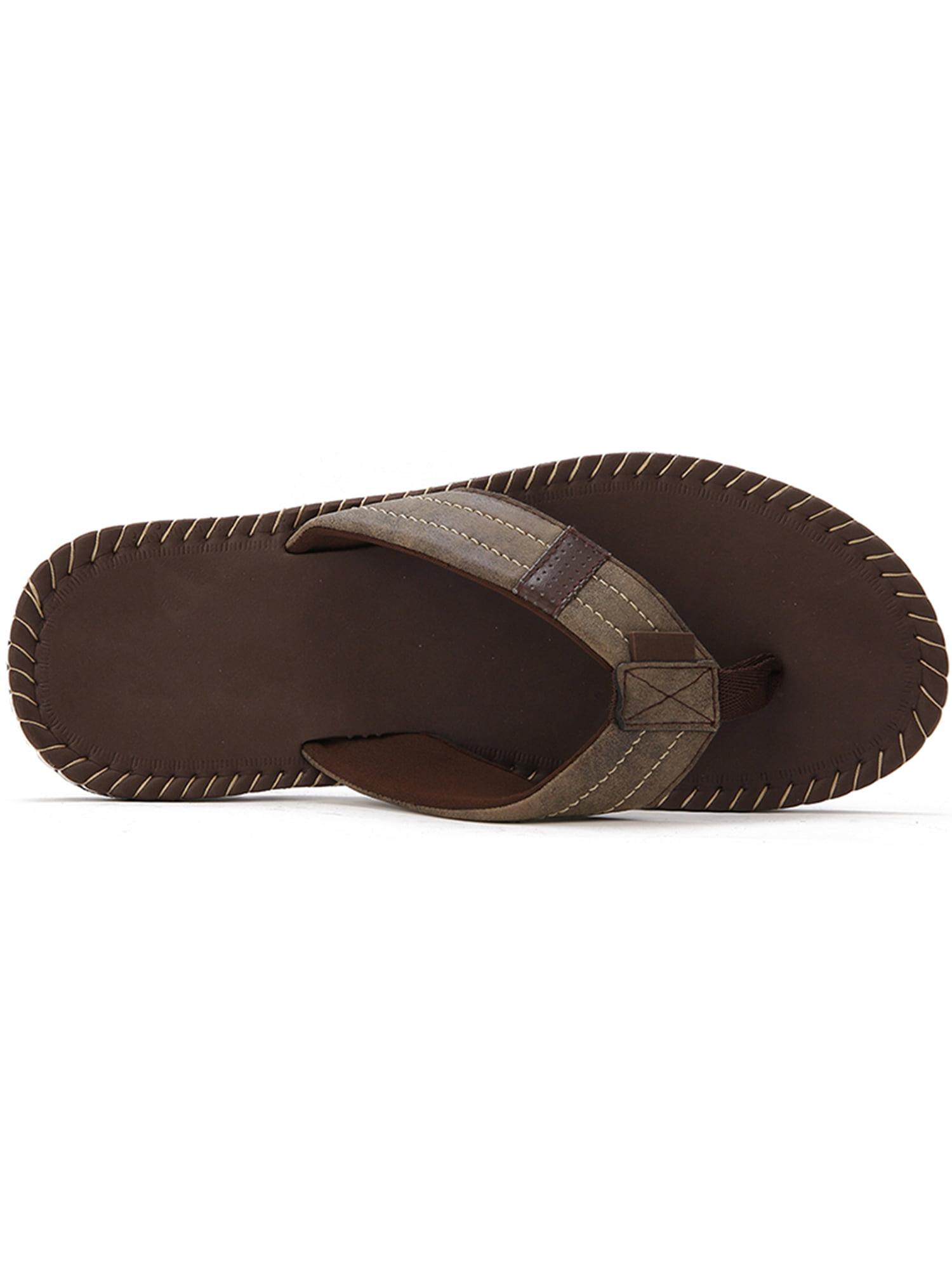 c02a0dc4d7d9 Tanleewa - Men s Flip Flop Summer Holiday Thong Sandals Comfort Lightweight  Beach Travel Slippers Big Size - Walmart.com