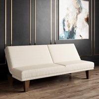 DHP Dillan Convertible Futon, Multiple Colors - Tan