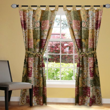 Greenland Home Fashions Antique Chic Curtain Panels (Set of