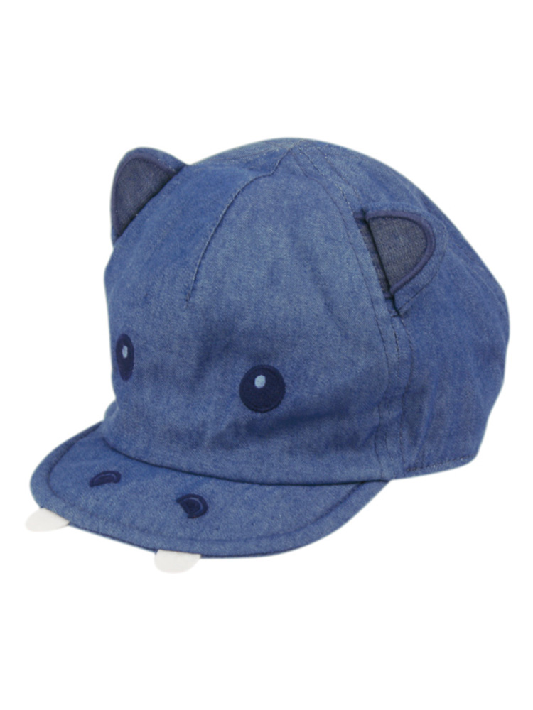 73dc6f7f2df Baby Boys Hippo Hat Cap with Ears Blue